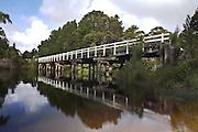 Henty River Bridge, Pieman River - Tasmania