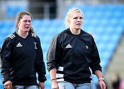 Tove Viksten of Harlequins warms up before the game - Mandatory by-line: Andy Watts/JMP - 06/02/2021 - Sandy Park - Exeter, England - Exeter Chiefs Women v Harlequins Women - Allianz Premier 15s