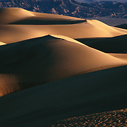 Dawn at Mesquite Flat Dunes near Stovepipe Wells in Death Valley National Park, CA.