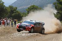 MOTORSPORT - WRC 2011 - ACROPOLIS RALLY - LOUTRAKI 16 TO 19/06/2011 - PHOTO : FRANCOIS BAUDIN / DPPI - <br /> 11 PETTER SOLBERG (NOR) / CHRIS PATTERSON (GBR) - CITROËN DS3 WRC - PETTER SOLBERG WRT - ACTION