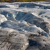 The Svinafellsjökull Glacier, a part of the Vatnajökull National Park, is famous for glacier walks and ice climbing. It's not the most impressive natural spot, but it offers probably one of the best accessible opportunity to experience the glacier, including excellent views.