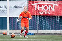 Fotball<br /> 16. August 2014<br /> 1. div. kvinner<br /> Stemmemyren<br /> Sandviken - Fortuna Ålesund<br /> Amy Carr , Sandviken <br /> Foto Astrid M. Nordhaug