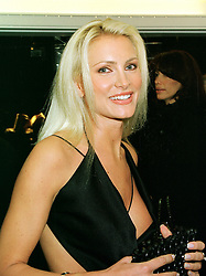 Model CAPRICE BOURRET at a ball in London on 20th November 1997.MDN 105