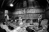 Waylon Speed records an album at the Barn over trhe weekend of March 9-10, 2011 in Vermont.