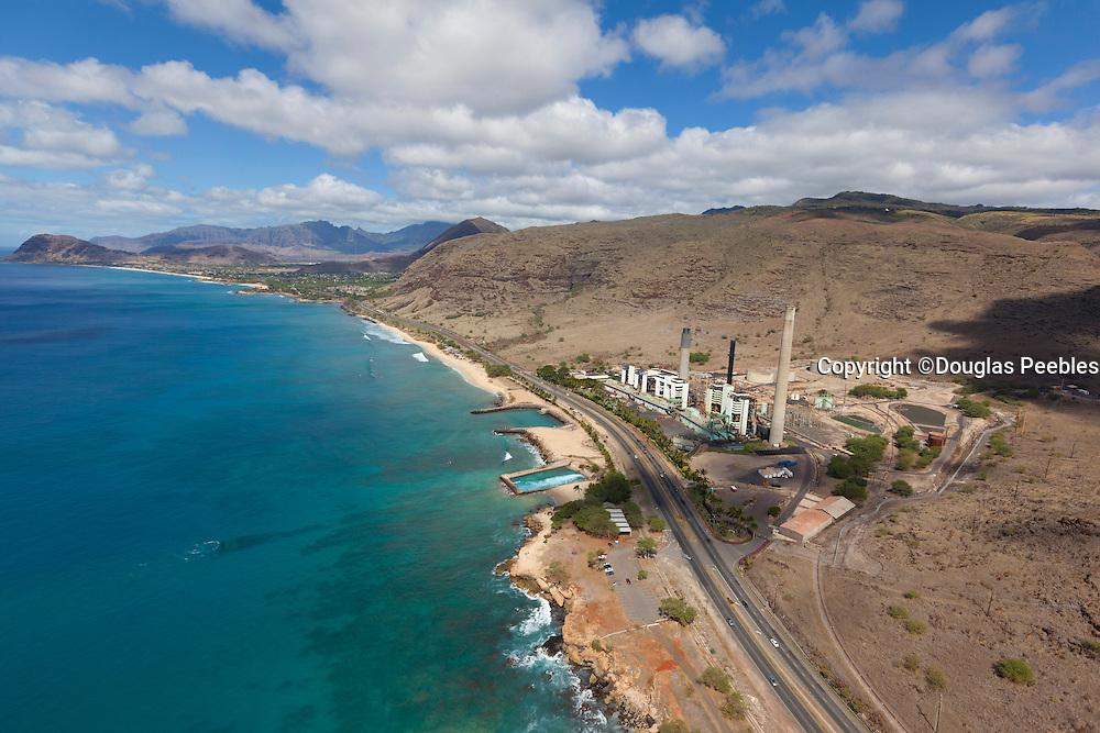Hawaiian Electric power plant,  Oahu, Hawaii