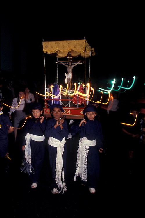 Holy Week (Semana Santa) , festival of Popayan, Cauca, Colombia