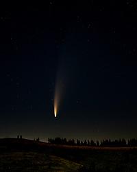 Comet Neowise, Victor Idaho