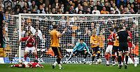 Photo: Steve Bond/Sportsbeat Images.<br />Wolverhampton Wanderers v Bristol City. Coca Cola Championship. 03/11/2007. Jay Bothroyd (10) scores for Wolves