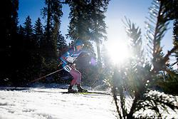Maxim Tsvetkov (RUS) during Men 15 km Mass Start at day 4 of IBU Biathlon World Cup 2015/16 Pokljuka, on December 20, 2015 in Rudno polje, Pokljuka, Slovenia. Photo by Ziga Zupan / Sportida