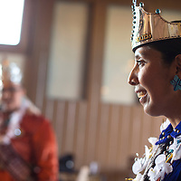Friends and family of Miss Indian New Mexico Nicole Kahbah Johnny gathered to show her appreciation for her reign at a small ceremony held at Angela's Cafe in Gallup Saturday.
