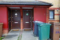 © Licensed to London News Pictures. 29/08/2015. London, UK. A Walthamstow house where Zahera Tariq and her four children lived before their departure to Amsterdam and police believes they may be travelling to Syria. Photo credit : LNP