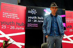 Edinburgh International Film Festival Youth Hub enables young people to meet and learn from experienced industry professionals and visiting filmmakers this year has Ewan Bremner in person, Youth Hub Friday 23rd June 2017(c) Brian Anderson | Edinburgh Elite media
