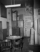 "Ackroyd 00011-77. ""Beaver Card Room. Pre-decoration. 1947"" Beaver Restaurant, 2384 NW Thurman."