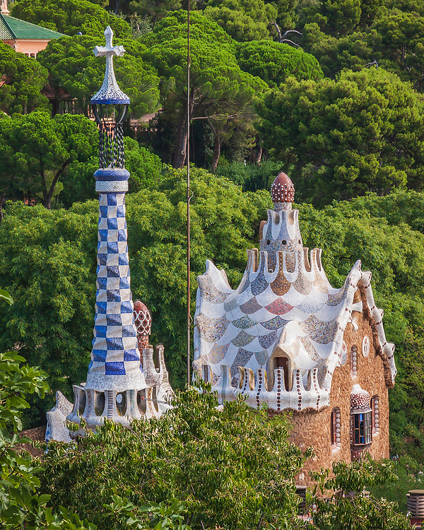 Park Güell in Barcelona is one of the great places to see the range of work from Antoni Gaudi and some of the ideas and inspirations that many will recognise in the much more photographed cathedral Sagrada Familia.