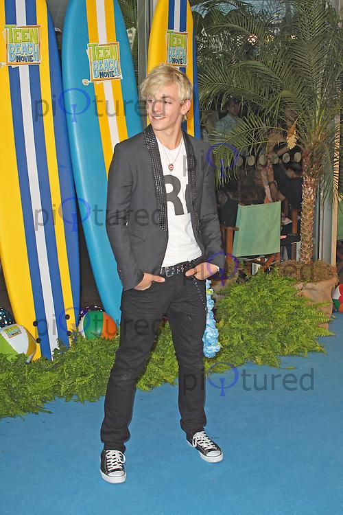 LONDON - July 07: Ross Lynch at the Disney Channel's Teen Beach Movie - UK Screening (Photo by Brett D. Cove)