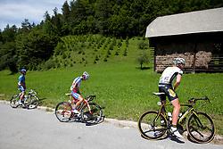 DE CLERCQ Tim of Topsport Vlaanderen during 1st Stage (164 km) at 19th Tour de Slovenie 2012, on June 14, 2012, in Novo Mesto, Slovenia. (Photo by Urban Urbanc / Sportida)
