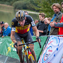 13-10-2019: Cycling: Superprestige Veldrijden: Gieten  Toon Aerts rode on the 3rd place for a long time