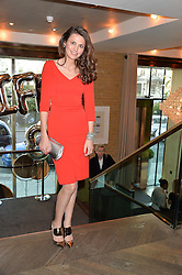 OLIVIA COLE at the 3rd birthday party for Spectator Life magazine hosted by Andrew Neil and Olivia Cole held at the Belgraves Hotel, 20 Chesham Place, London on 31st March 2015.