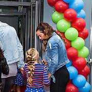 NLD/Amsterdam/20190814 - Premiere Angry Birds 2, Rico Verhoeven met partner Jacky Duchenne
