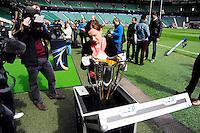 Trophee - 01.05.2015 - Captains' Run de Toulon avant la finale - European Rugby Champions Cup -Twickenham -Londres<br /> Photo : David Winter / Icon Sport