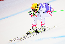 January 19, 2018 - Cortina D'Ampezzo, Dolimites, Italy - Cornelia Huetter of Austria competes  during the Downhill race at the Cortina d'Ampezzo FIS World Cup in Cortina d'Ampezzo, Italy on January 19, 2018. (Credit Image: © Rok Rakun/Pacific Press via ZUMA Wire)