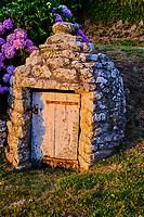 France, Manche (50), Cotentin, Cap de la Hague, Auderville, hameau de La Roche // France, Normandy, Manche department, Cotentin, Cap de la Hague, Auderville, La Roche hamlet