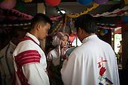 Christian Karen wedding. The majority of the KNU representatives are Christian.