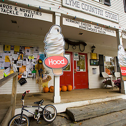The Lyme Country Store in Lyme, New Hampshire.