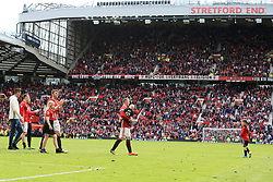21 May 2017 - Premier League Football - Manchester United v Crystal Palace - Wayne Rooney of Manchester United takes the adulation of the crowd during the lap of appreciation - Photo: Paul Roberts / Offside