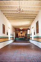 Sonoma Mission (San Francisco Solano) Chapel, Sonoma, California