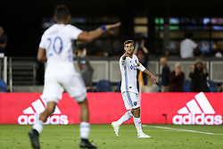 September 19, 2018 - San Jose, California, United States - San Jose, CA - Wednesday September 19, 2018: Chris Wondolowski, goal waved off during a Major League Soccer (MLS) match between the San Jose Earthquakes and Atlanta United FC at Avaya Stadium. (Credit Image: © Bob Drebin/ISIPhotos via ZUMA Wire)