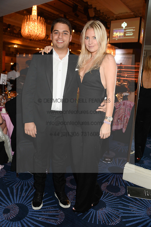British fine jewellery brand Boodles welcomed guests for the 2013 Boodles Boxing Ball in aid of Starlight Children's Foundation held at the Grosvenor House Hotel, Park Lane, London on 21st September 2013.<br /> Picture Shows:-JAMIE REUBEN and MARISSA MONTGOMERY.<br /> <br /> Press release - https://www.dropbox.com/s/a3pygc5img14bxk/BBB_2013_press_release.pdf<br /> <br /> For Quotes  on the event call James Amos on 07747 615 003 or email jamesamos@boodles.com. For all other press enquiries please contact luciaroberts@boodles.com (0788 038 3003)