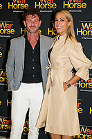 Andrew Kingston and Erika Heynatz at the opening night of War Horse, at the Lyric Theatre, Star City on February 18, 2020 in Sydney, Australia