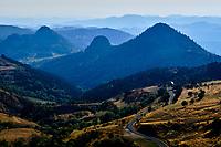 France, Ardèche (07), parc naturel régional des Monts d'Ardèche, Massif du Mézenc // France, Ardeche (07), regional natural park of Monts d'Ardèche