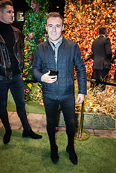 © Licensed to London News Pictures . 23/11/2018. Manchester , UK . Alan Halsall arrives at an opening event of The Ivy restaurant and bar venue in Spinningfields in Manchester City Centre . Photo credit : Joel Goodman/LNP