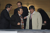 20100303: COIMBRA, PORTUGAL - Portugal vs China: International Friendly. In picture: Laurentino Dias (Portuguese Secretary of State for Youth and Sport, R) and a member of the Chinese government. PHOTO: CITYFILES