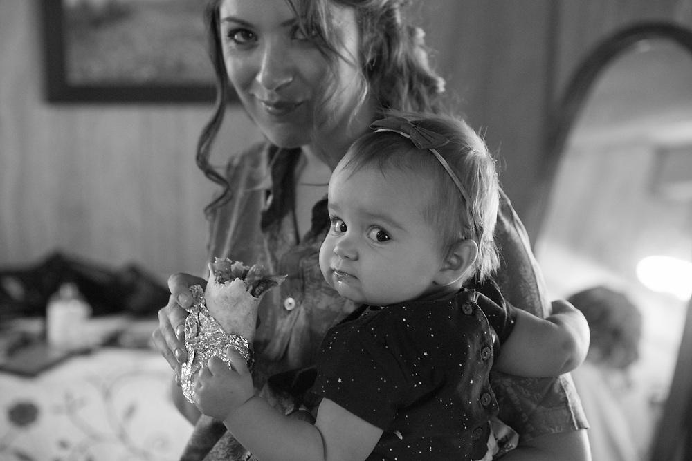Colorless Getting Ready Moment| Lake Tahoe Wedding Photography Portfolio| South Lake Tahoe, California