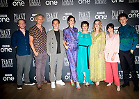 """Brian Gleeson, Elliot Cowan, Finn Cole, Natasha O'Keeffe, Helen McCrory, Sophie Rundle, Charlene McKenna and Harry Kirton  at the  the """"Peaky Blinders"""" BFI TV Preview at BFI Southbank on July 23, 2019  London, England"""