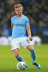 19th December 2017 - Carabao Cup (Quarter Final) - Leicester City v Manchester City - Oleksandr Zinchenko of Man City - Photo: Simon Stacpoole / Offside.