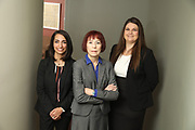 SHOT 12/4/19 11:15:08 AM - McGuane & Hogan, P.C., a Colorado family law firm located in Denver, Co. Includes attorneys Kathleen Ann Hogan, Halleh T. Omidi and Katie P. Ahles. (Photo by Marc Piscotty / © 2019)