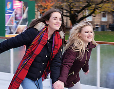 Open Air Ice Rink Opens | Edinburgh | 18 November 2016