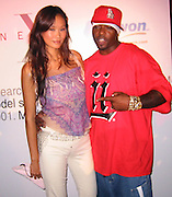 Audrey Quock &Treach of Naughty by Nature.Next Model Search.Serafina Restaurant.New York, NY.August 14, 2001.Photo by Celebrityvibe.com..