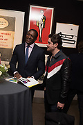 DANJUMA MSHELIA;  KYLE JAMES, Preview evening  in support of The Eve Appeal, a charity dedicated to protecting women from gynaecological cancers. Bonhams Knightsbridge, Montpelier St. London. 29 April 2019