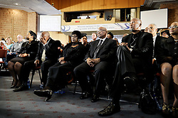 Dec. 8, 2013 - Dec. 8, 2013 - A prayer for Nelson Mandela in Bryanston Methodist church, Johannesburg, South Africa. Mandela's ex-wife Winnie Mandela, South African president Jacob Zuma and Nelson Mandela's grand child Mandla Mandela. 8 Dec 2013 (Credit Image: © Bardell Andreas/Aftonbladet/IBL/ZUMAPRESS.com)