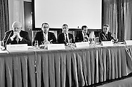 Annual press conference of the Swiss Private Bankers Association (Association des Banquiers Privés Suisses), in the luxury Bellevue Palace hotel in the Swiss capitol Bern.