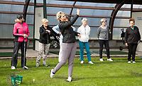 CRUQIUS-VIJFHUIZEN  - wedstrijd en clinic van Golfvrouw.nl met initiatiefnemer, Marloes Olling. COPYRIGHT KOEN SUYK
