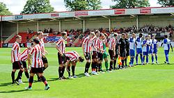 Cheltenham Town v Bristol Rovers - Mandatory by-line: Neil Brookman/JMP - 25/07/2015 - SPORT - FOOTBALL - Cheltenham Town,England - Whaddon Road - Cheltenham Town v Bristol Rovers - Pre-Season Friendly