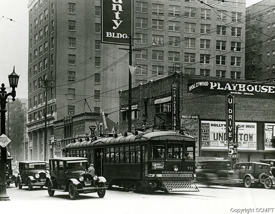 1928 Hollywood Blvd. & Ivar St.