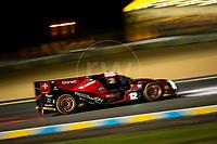 Qualifying Nicolas Prost (FRA) / Nelson Piquet Jr (BRA) / Nick Heidfeld (DEU) driving the LMP1 Rebellion Racing Rebellion R-One - AER 24hr Le Mans 15th June 2016