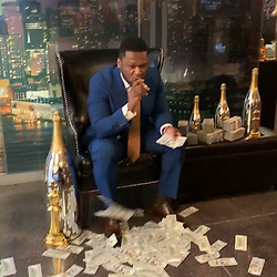 """50 Cent releases a photo on Instagram with the following caption: """"Here it is B.M.F Casting Info let\u2019s work https://gunitfilmandtv.com/casting #lecheminduroi"""". Photo Credit: Instagram *** No USA Distribution *** For Editorial Use Only *** Not to be Published in Books or Photo Books ***  Please note: Fees charged by the agency are for the agency's services only, and do not, nor are they intended to, convey to the user any ownership of Copyright or License in the material. The agency does not claim any ownership including but not limited to Copyright or License in the attached material. By publishing this material you expressly agree to indemnify and to hold the agency and its directors, shareholders and employees harmless from any loss, claims, damages, demands, expenses (including legal fees), or any causes of action or allegation against the agency arising out of or connected in any way with publication of the material."""